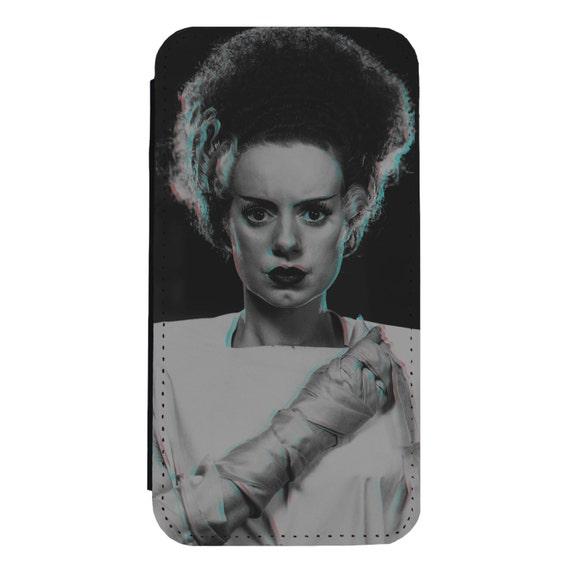 Bride of Frankenstein for iPhone 5/5s/SE 6/6s 6/6sPlus 7/7Plus 8/8Plus X Samsung Galaxy S6/S6Edge S7/S7Edge S8/S8Plus Wallet Case