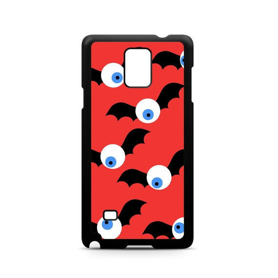Spooky Halloween Flying Bat Monster Eyes for Samsung Galaxy Note 9, Note 8, Note 5, Note 4, Note 3 Phone Case Phone Cover