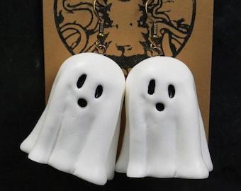 Spooky Ghost Earrings