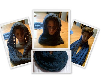 Pattern Digital, The Simon Cowl - This beautiful infinity cowl is a comfy and warm winter accessory. This cowl definitely  has the X Factor.
