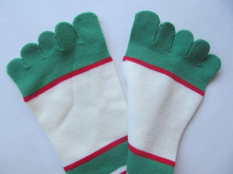 Socks holiday Raindeer ToesocksMediumRudolph  Christmas