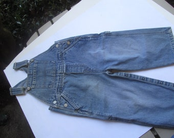 Bib Overall //Todler //Denim//Jeans//24Mo //Blue Jeans// Overall //