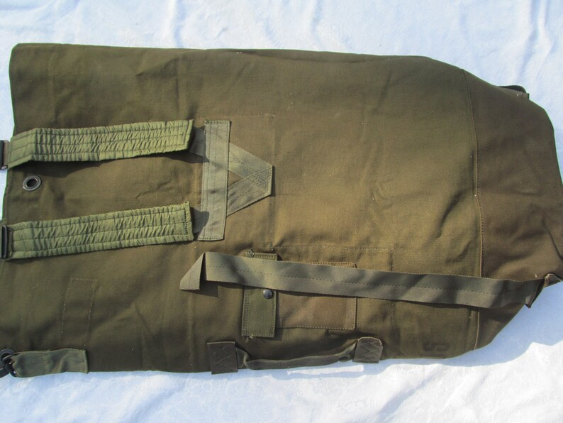 US Army Military Bag Duffle Bag Type II from the 80 s  c326d6e505317