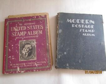 Stamp Bocks  - Stamps - Vintage - US - Postage Stamps