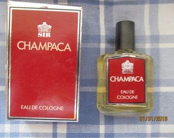 Vintage Fragrance - Men - Men's -Eau De Cologne - CHAMPACA - SIR - 30ml