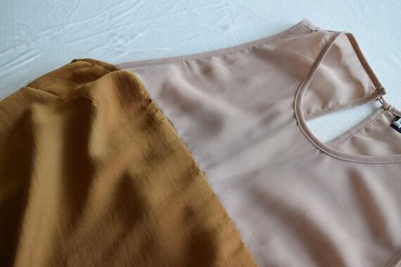 90's style neutral slip dress