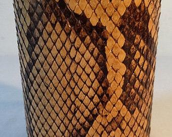 Medium Brown Python Cuff