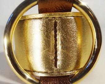 Ring Bracelet / Gold Dust