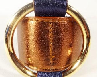Ring Bracelet/ Bronze Metallic