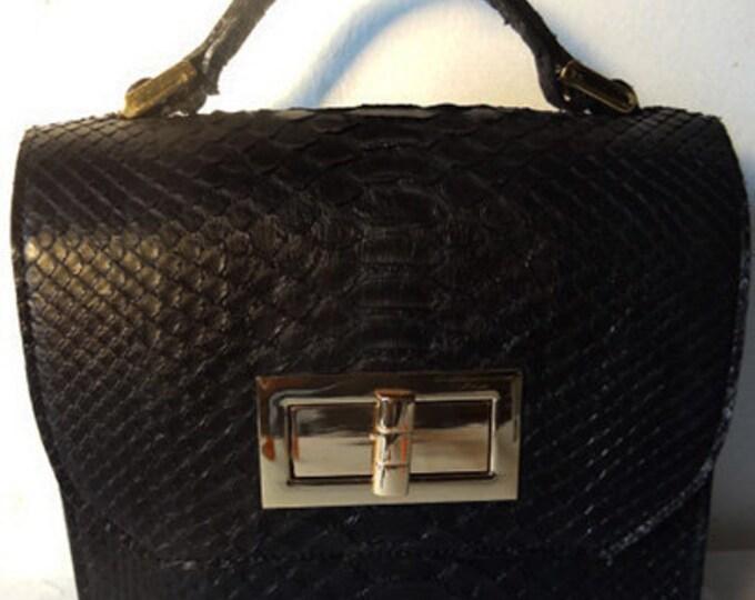 Julie Mini Constructed Box Bag