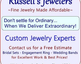 Amanda Custom Made Ring Design in 18 karat Diamond Semi-Mount Engagement Ring Size 6
