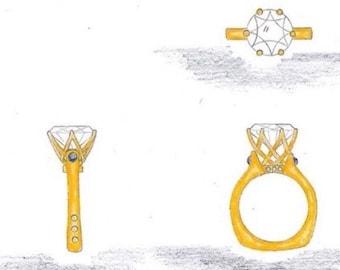 Zac's Custom Design Ring