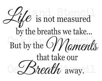 The Breaths We Take Etsy