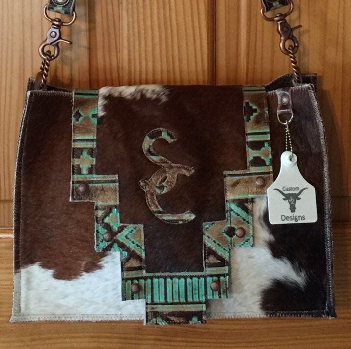 ad189c6b9 Custom Conceal Carry Cowhide Purse FREE SHIPPING