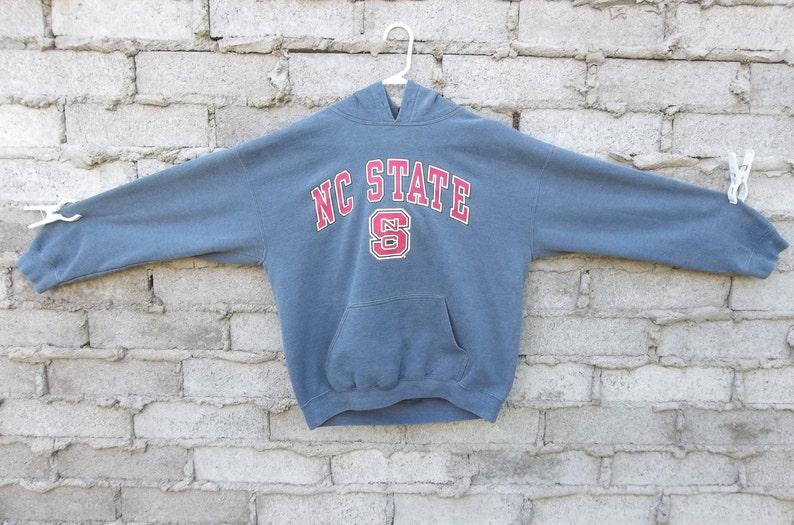 North Carolina State Tee Sweatshirt Souvenir University Font Hoodie Sweatshirt