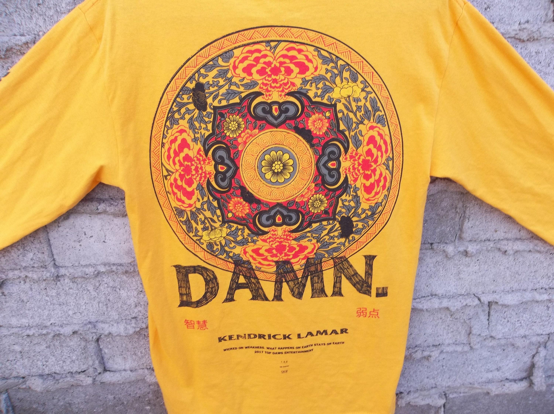 d765d90feb18 Guimaraes Lamar Concert T-shirt à manches longues petits collectionneurs  pari Hip Hop Rap R un B noir Culture producteur Era New Age