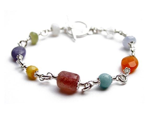 Carnelian Anklet Reiki CrystalHealing Gemstone Ankle Bracelet Tumble HAPPY STONE