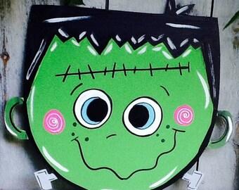 Halloween signs, halloween door sign, halloween door hanger, monster door sign, haunted house door sign, monster mash sign, haunted house