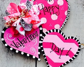 Valentines sign, valentines door hanger, sweetheart sign