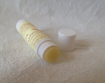 Violet de Cravine Bacon baume pour les lèvres - tout naturel ; Guérison, maison ; Naturel SPF
