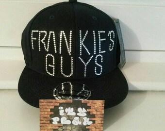 Snapback personalizzati Cappellino con lettere blinged 9bbad08d9be3