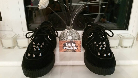 Personnalisé creepers noir crampons chaussures creepers Personnalisé 906722