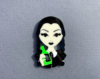 PREORDER - This is my Costume - Laser cut acrylic brooch