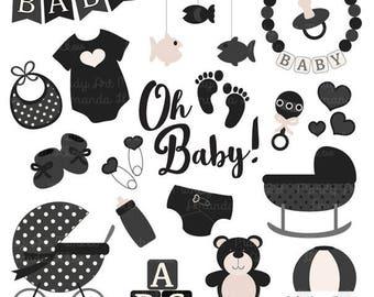 Black Baby Shower Etsy