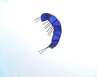 Collembola - blue bug suncatcher