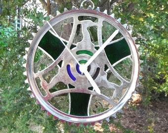 Heron bike gear clock