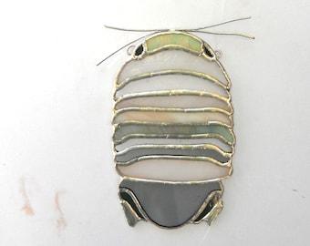 Isopod - multicolored bug suncatcher
