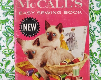 Vintage 60s McCall's Sewing booklet 1960  - wealth of information excellent retro sewing resource