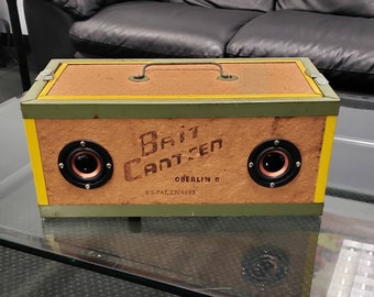Vintage Fishing Collection Book Oberlin Bait Canteen Box Kool Keeper Scale Scraper