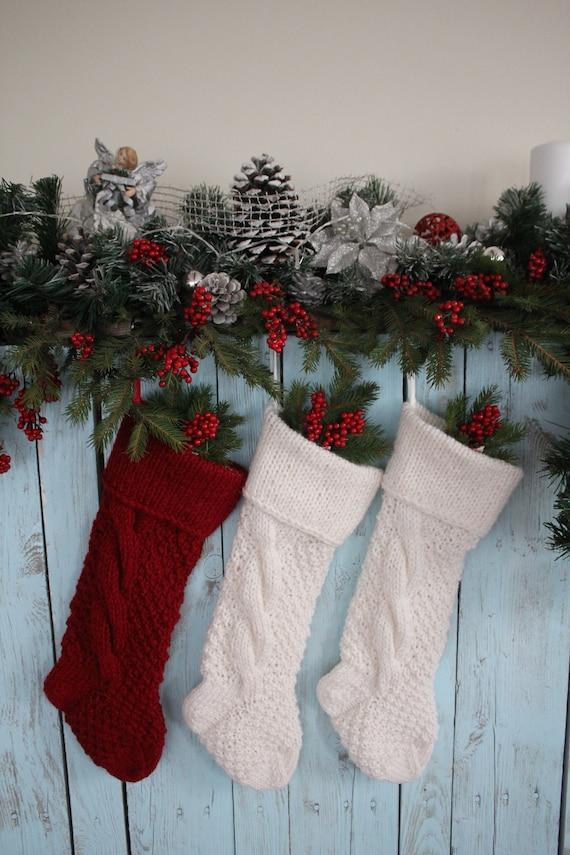 Personalisierte Weihnachts-Strumpf SET 3 Weihnachts-Strumpf   Etsy