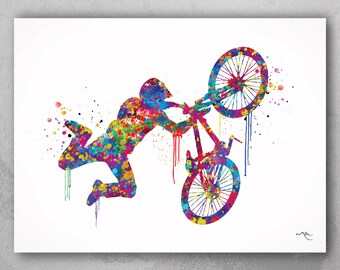 print Bmx The nothing poster gift bike home decor picture wall art