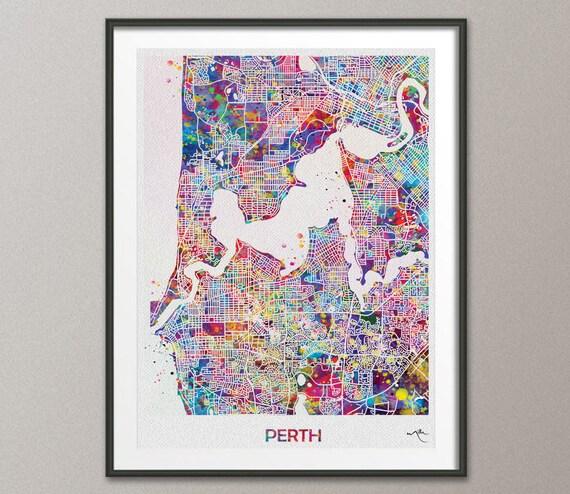 London Skyline Cityscape Print Canvas Art Print Geek Art Travel Art Wanderlust