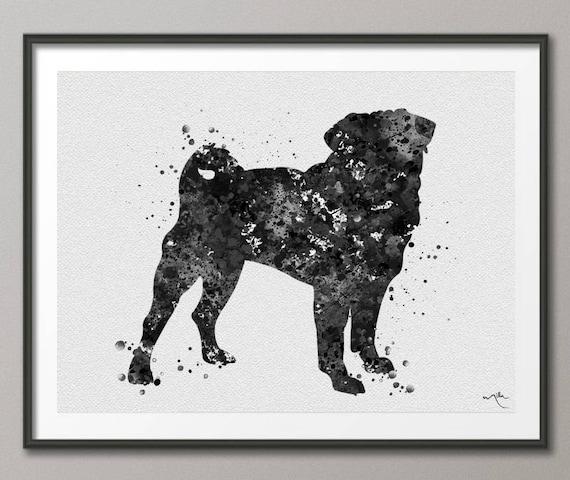 Vintage Art Print Poster A1 A2 A3 A4 A5 cocker spaniel Dog