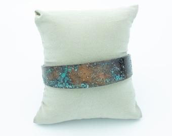 Salt Patina Copper Cuff Bracelet