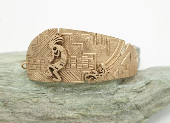 Bronze Aztec Bracelet