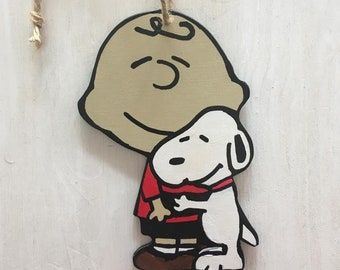 wood ornament newborm mobile toy wood sign Peanuts Snoopy house Born to sleep Wood door hanger pethome sign wall decor