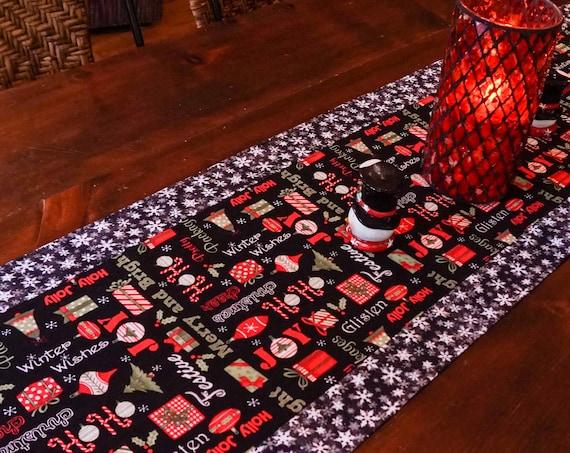 Modern Farmhouse Christmas Decor-Christmas Table Runner-Xmas Decor-Christmas Decorations-Holiday Decor-Farmhouse Christmas Decor-Xmas Gift