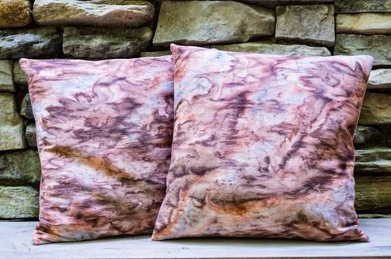 Coffee Pillow Cover-Terracotta Pillow-Coffee Decor-Modern Rustic Decor-Boho-Gift for Him-Home Decor Gift-Unique Gift-Watercolor Home Decor