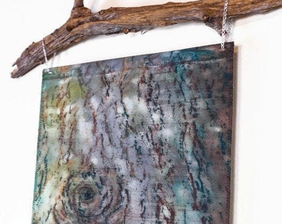 Modern Rustic Art-Tree Tapestry-Tree Bark Art-Nature Wall Art-Rustic Home Decor-Tapestry Wall Hanging-Cabin Decor-Lodge Decor-Gift For Men