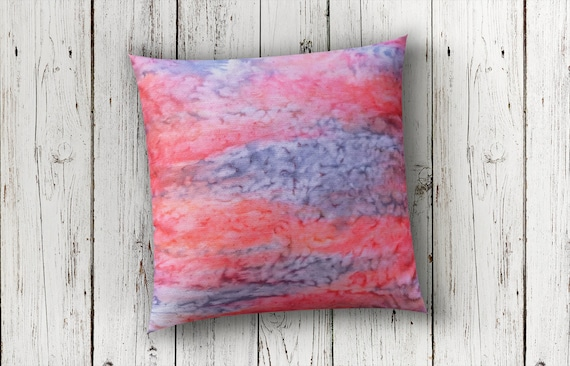 Coral and Gray Pillow Cover-Coral Pillow-Pillow Cover and Insert-Salmon Pillow-Coral Pink Nursery-Tropical Decor-Boho Decor-Gift for Mom