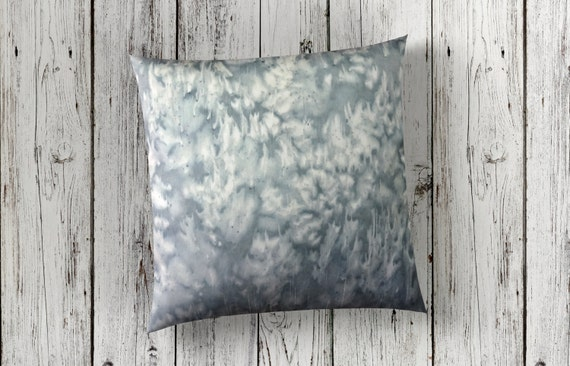 Gray Pillows-Grey Pillow Covers-Hand Dyed Pillow-Neutral Nursery Decor-Neutral Throw Pillow-Office Decor-Neutral Decor-Home Decor for Men
