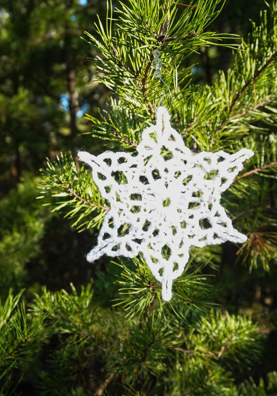 Christmas Ornaments-Snowflake Ornament-Christmas Decorations-Xmas Ornaments-Christmas Gift