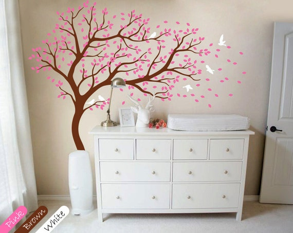Tree wall decal Large tree wall decals nursery wall decor   Etsy