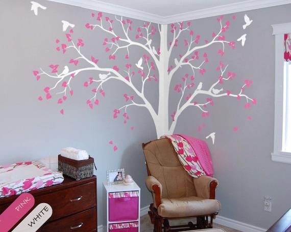 Baum Wand Aufkleber Voller Ecke Baum Aufkleber Kinderzimmer Etsy