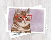 Orange Tabby Cat Postcard Set