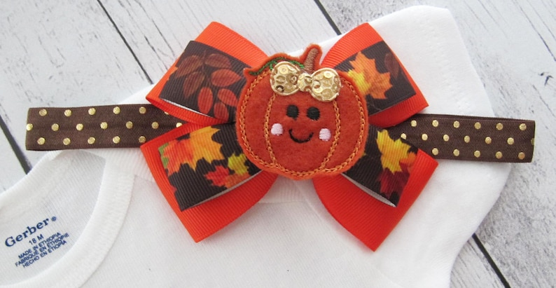 first thanksgiving turkey day pumpkin holiday outfit Cutest Pumpkin in the Patch Outfit for Baby Girl babys first holidays